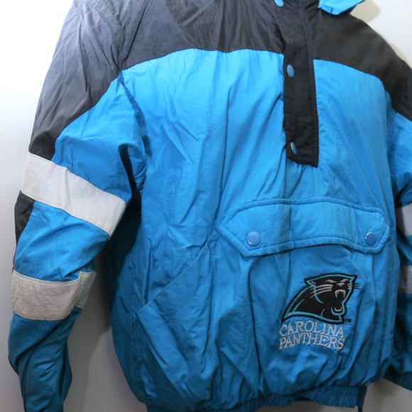 cheap for discount 0ef8b cb784 90's Vintage CAROLINA PANTHERS Youth Puffer Jacket